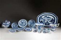 Set 18-19th Chinese Antique Export Porcelain