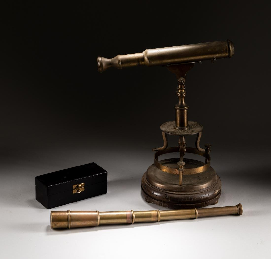 Group Vintage Telescope Spyglass