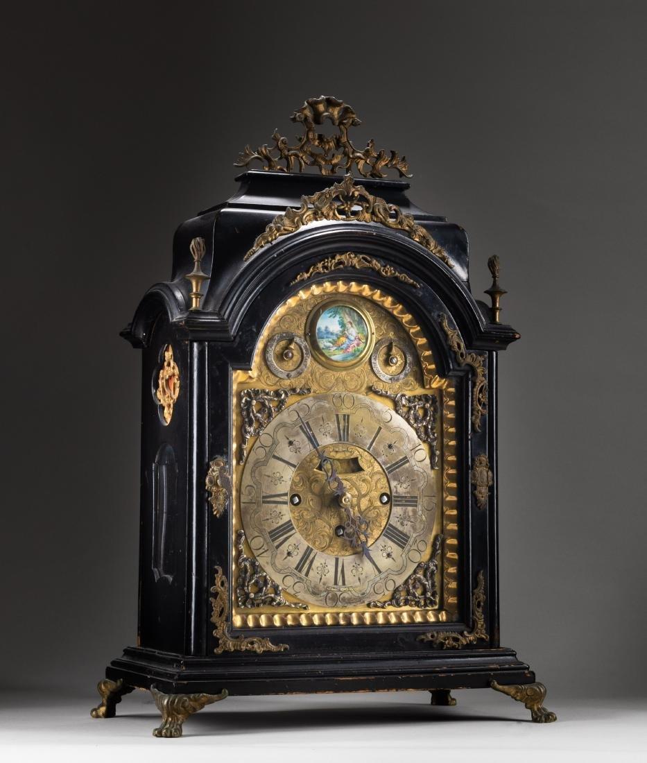 French Antique Gilt Bronze Clock