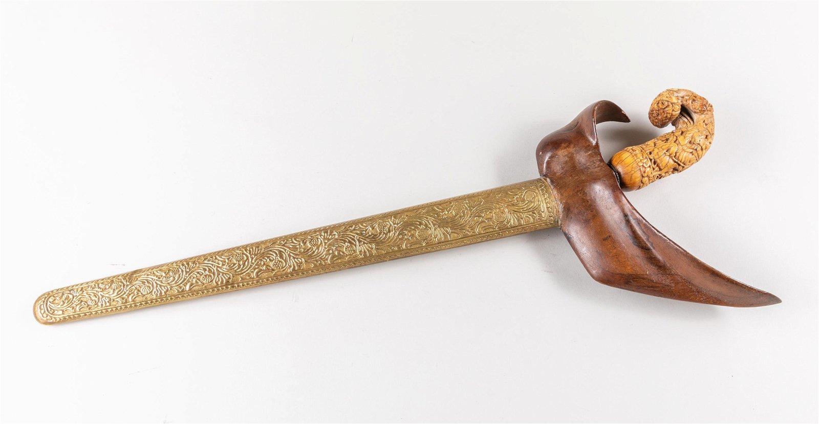 Indonesian Antique Kris/Keris Java Dagger
