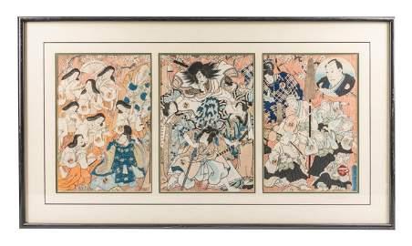 Japanese Woodblock Prints, Utagawa Kunisada 1786–1865