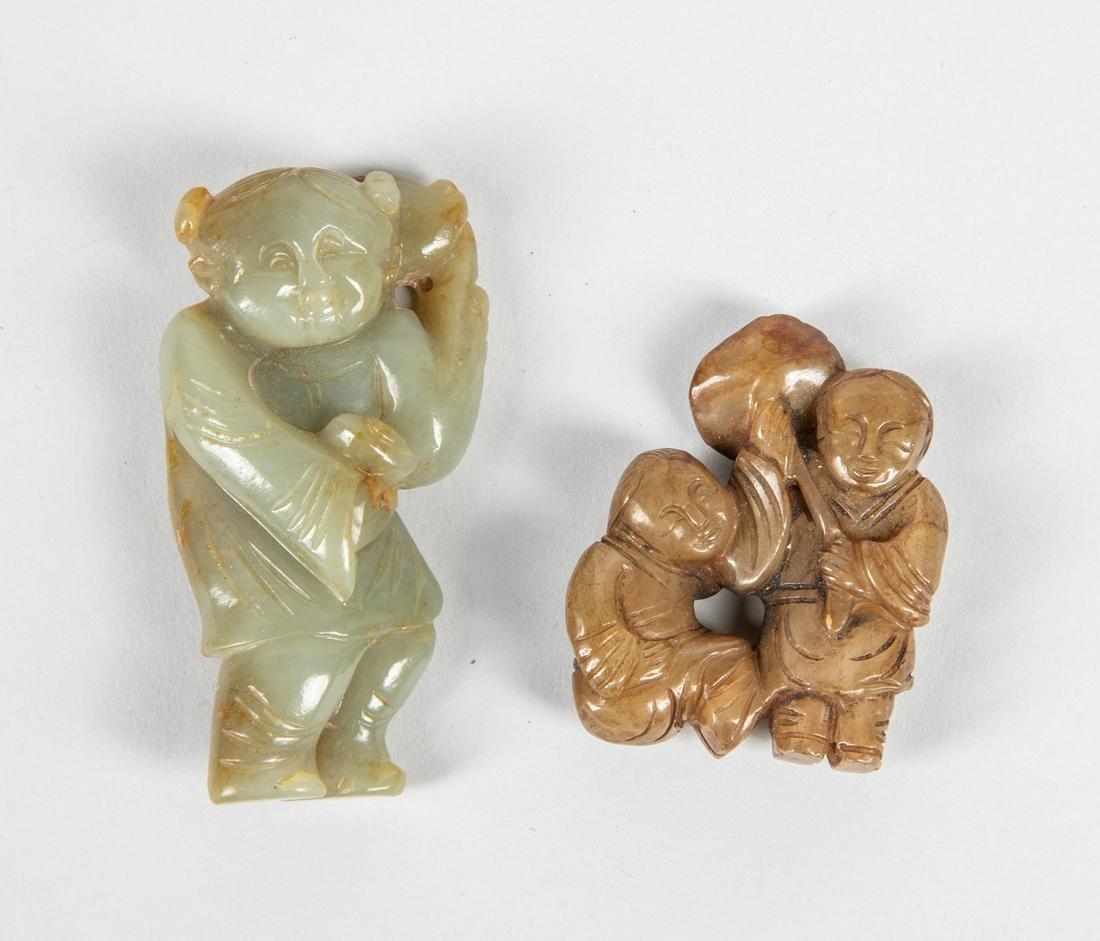 Set of Chinese Jade Toggles