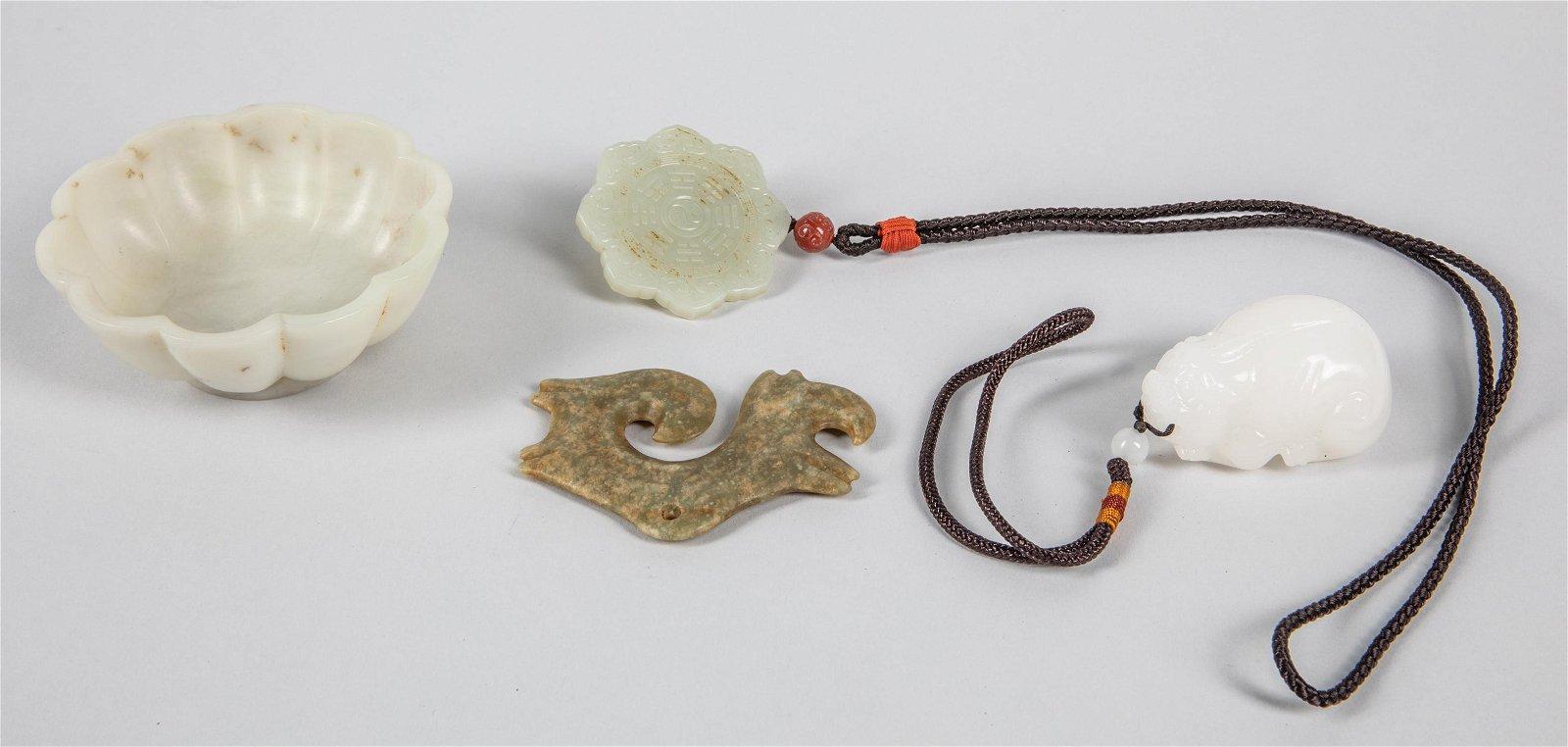 Set of Chinese Jade Carvings