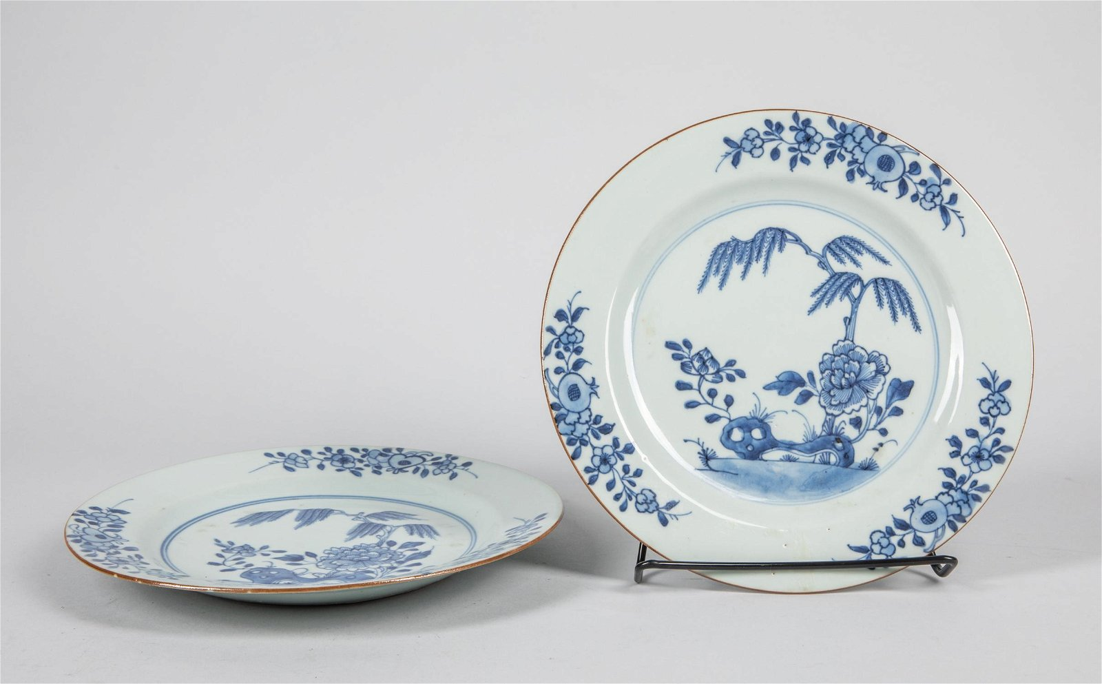 Pairs of Chinese Antique Blue White Porcelain Plates