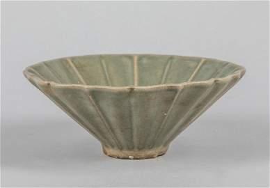 Chinese Celadon Glazed Porcelain Tea Cup