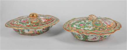 Pairs of Chinese Antique Famille Rose Porcelain Bowl