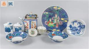 Collection of Japanese Porcelain Items