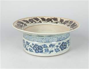 Chinese Blue White Porcelain Central Piece