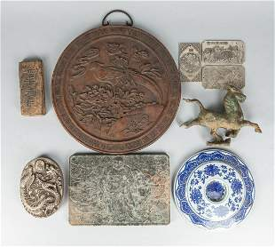 Group Chinese/Japanese Collectible Decorated Items