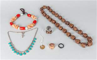 Group of Designed Chinese Necklace and Jewelry