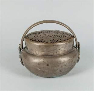 Chinese Old Brass Censer