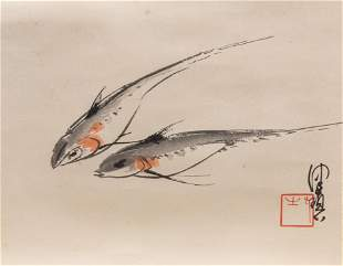 Fine Chinese Water Color Painting