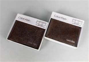 Group of Calvin Klein Wallets