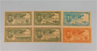 Set Chinese Banknotes / Paper Money
