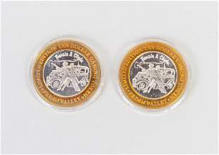 Sets Primm Valley Casino .999 Fine silver coins
