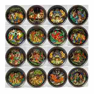 Large Groups Tianex Bradex Russian Wall Hanging Plates