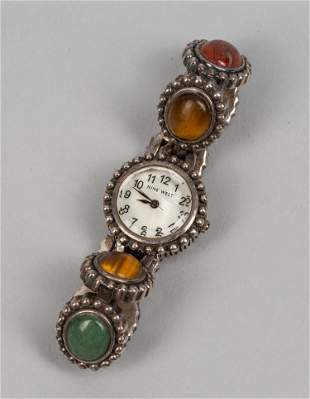 Japan Designed Nine West Gem Stone Watch