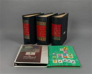 Collection of World Stamps Album