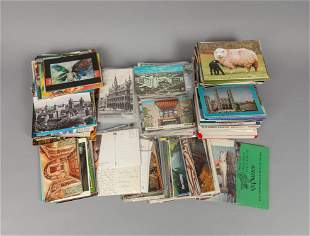Large Group of Post Cards Collection
