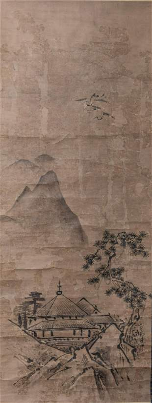 Chinese Wall Hanging Painting Scroll