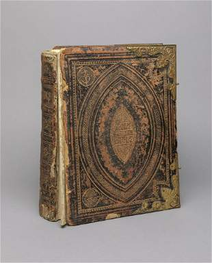 English Antique Book of Holy Bible