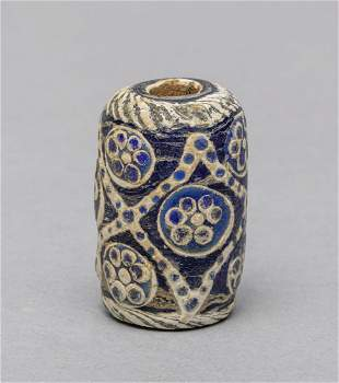 Ancient Roman Type Dragon Fly Eye Glass Beads