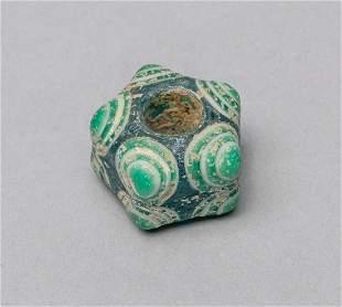 Ancient Roman Type Dragon Fly Eye Glass Bead
