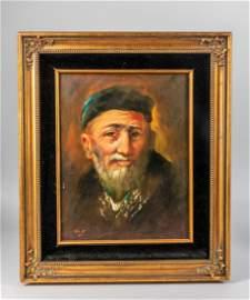 Vintage Oil Painting on Board, Watt