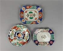 Set Japanese Old Imari Porcelain Plates