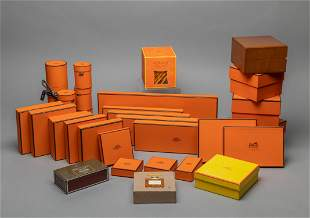 Collectible Lg Group Hermes Paris Boxes