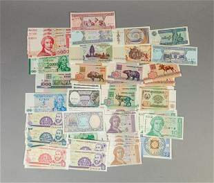 Collectible World Bank Notes/Paper Money