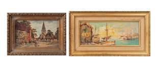 Set of Oil Paintings