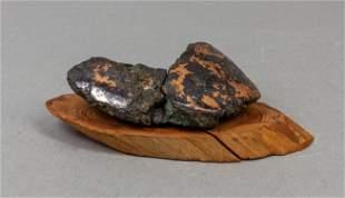 Rare Copper Queen Mine Table Sculpture