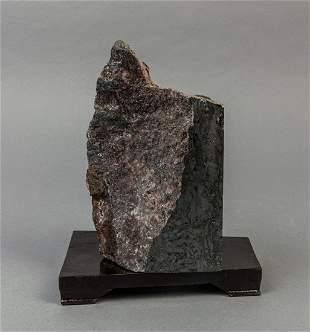 Rare Iron Mine Table Sculpture