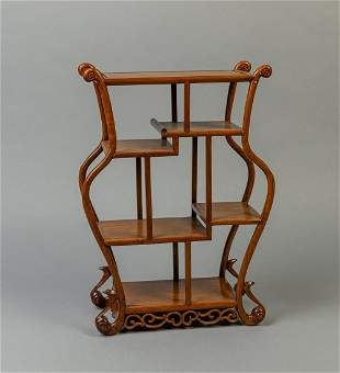 Chinese Wood Stand
