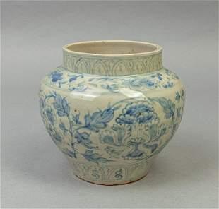 Vietnam Hoian Shipwreck Type Porcelain Jar