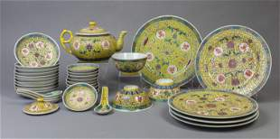 Chinese Royal Color Porcelain Dinning Service