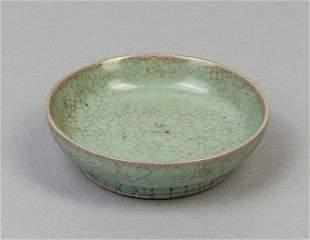 Chinese Ru Type Porcelain Dish