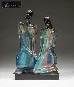 Collectible Art Deco Glass Sculpture