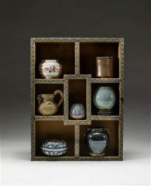 Set Chinese Porcelain Pieces