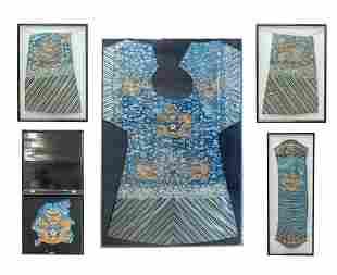 Antique Chinese Silk Robe