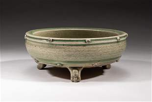 Chinese Ming Type Longquan Porcelain Censer