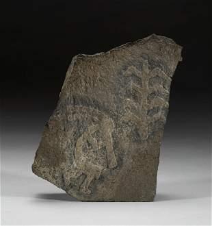 Native American Hieroglyphic Type Rock Carving