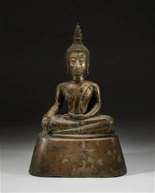 South Asian Bronze Buddha