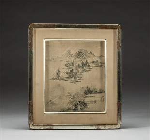 Collectible Chinese Watercolor Painting