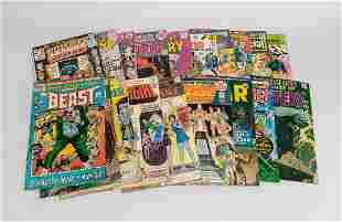 Collectible DC Comics Showcase Magazines