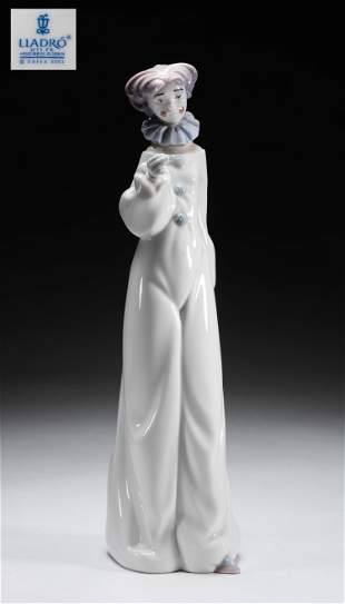 Collectible Lladro Porcelain Figure of Clown