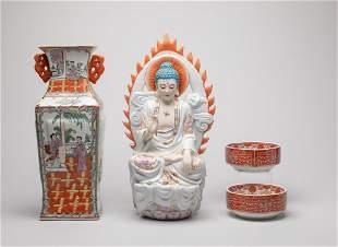 Set Chinese Export Porcelain Wares