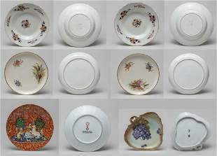 Collectible Famille Rose Porcelain Plates
