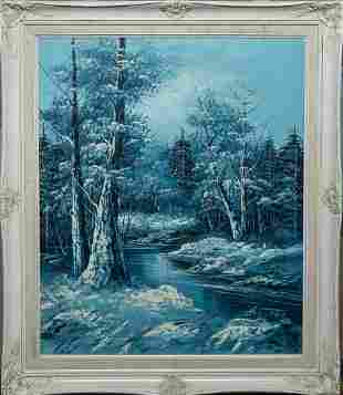 Collectible Oil Painting on Canvas Landscape